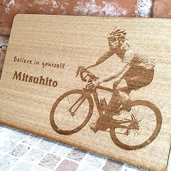 木製ボードmini 写真彫刻