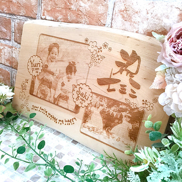 木製メモリアルボード