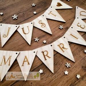 木製ガーランドの種類が増えました -結婚式・誕生日の飾り付けやフォトアイテムに-